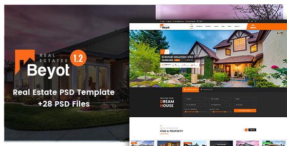 Real Estate PSD Website Templates