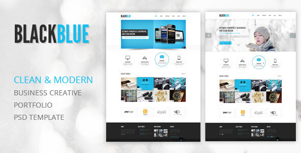 Portfolio PSD Website Templates