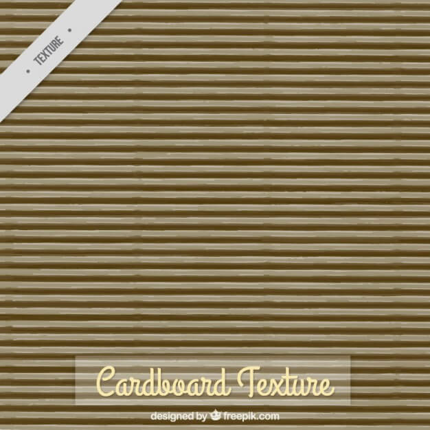 Cardboard texture with stripes