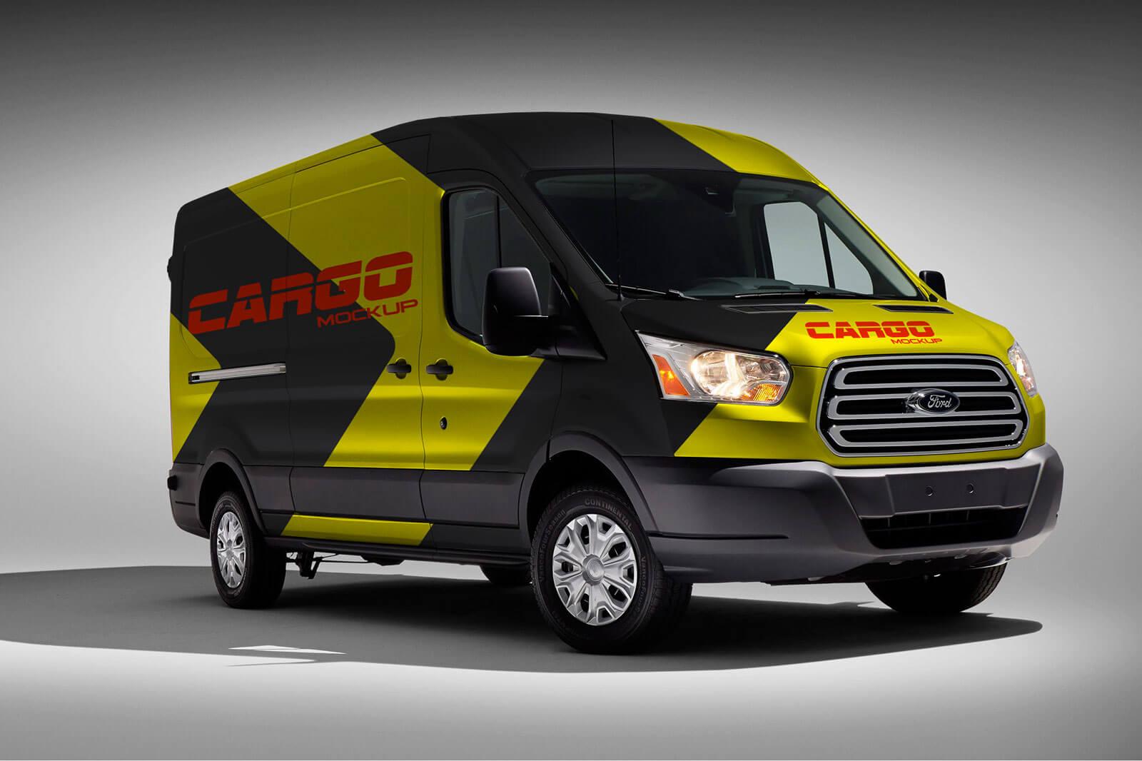 Cargo Van Vehicle Branding