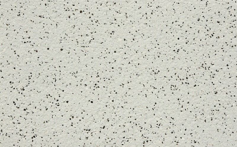 Construction material surface texture