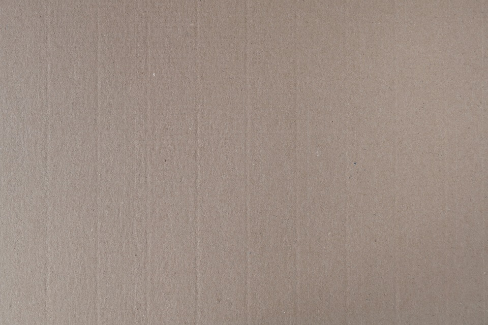 Corrugated board cardboard fine