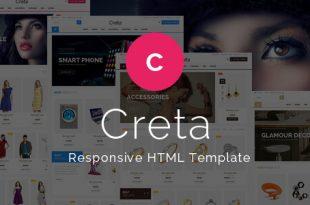 Ecommerce HTML Website Templates