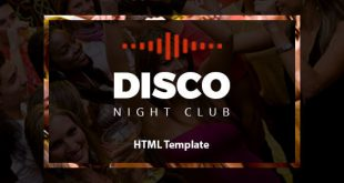 Night Club HTML Website Templates