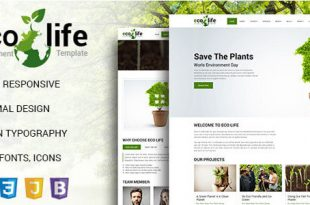 Environment HTML Website Templates