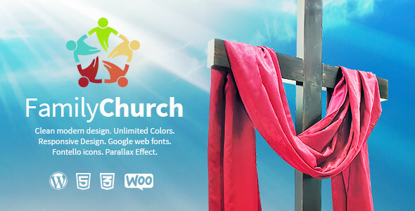 Church PSD Website Templates