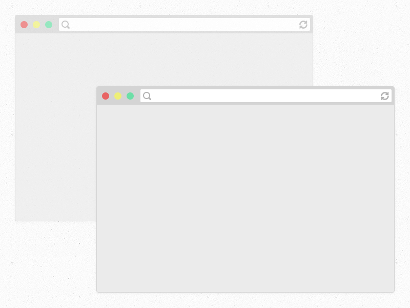 Flat Web Browsers