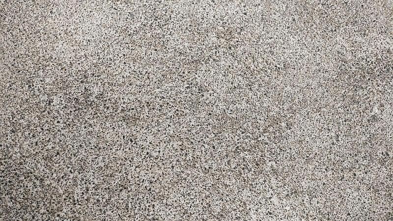 Floor rock concrete floor