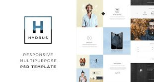Blog PSD Website Templates