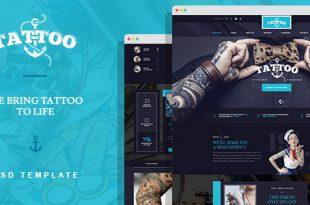 Art PSD Website Templates