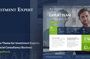 Investment HTML Website Templates