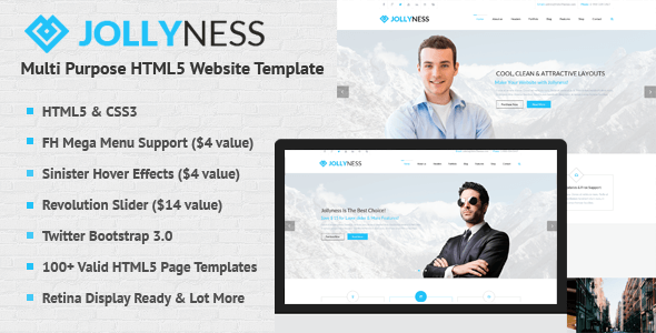 Multipurpose HTML Website Templates