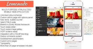 Mobile Application HTML Website Templates