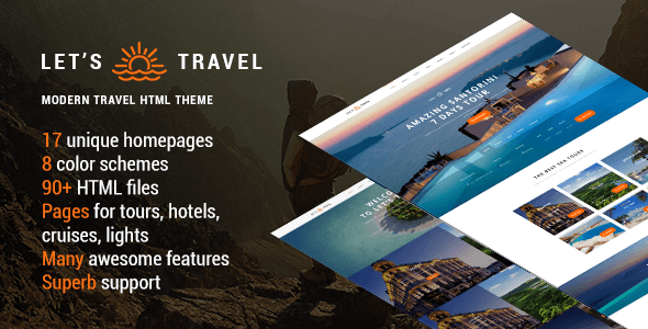 Travel HTML Website Templates