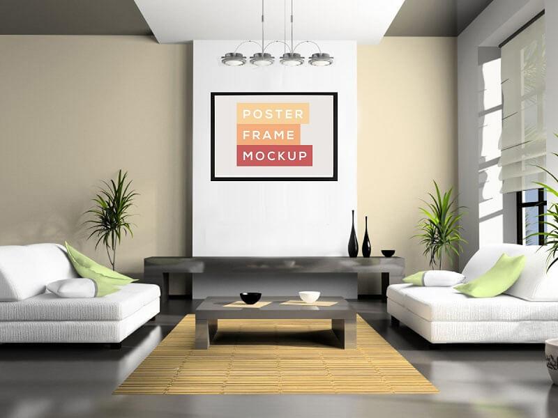 Living Room Minimal Poster