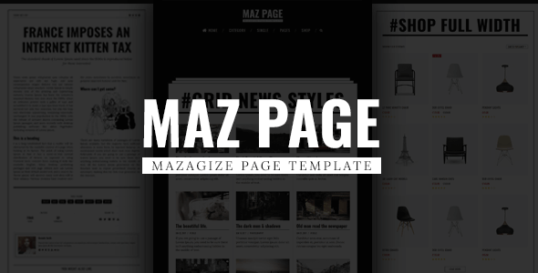 MazPage