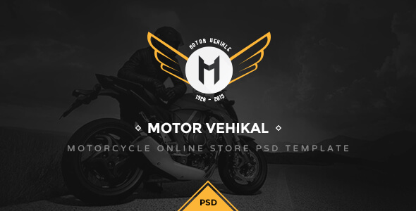 Vehicle PSD Website Templates