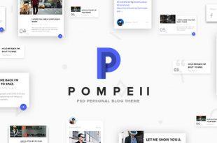 Personal PSD Website Templates