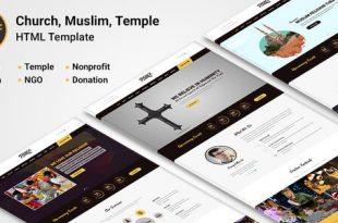Church HTML Website Templates