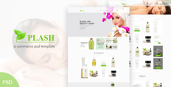 Spa Salon PSD Website Templates