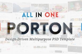 Multipurpose PSD Website Templates
