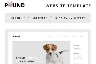 Bootstrap HTML Website Templates