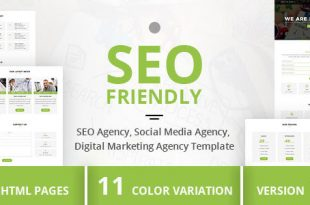 Seo Friendly HTML Website Templates