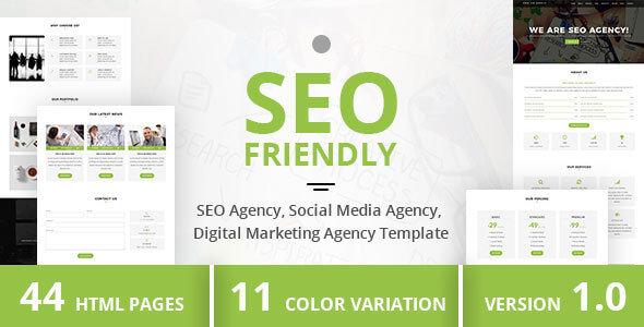 Seo Friendly HTML Website Templates
