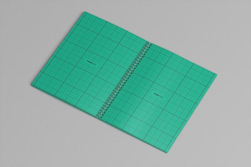 Set of Spiral Sketchbook