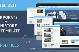 Corporate PSD Website Templates