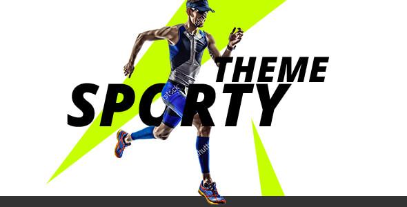 Sporty theme