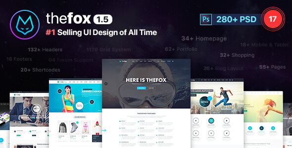 Popular PSD Website Templates