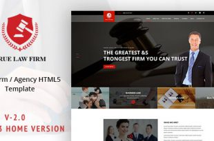 Lawyer HTML Website Templates