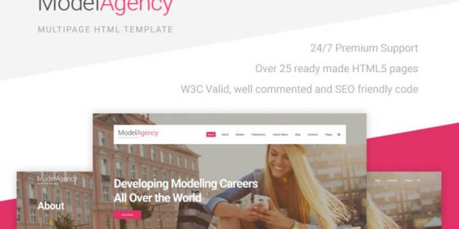 Agency HTML Website Templates