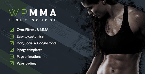 Gym HTML Website Templates