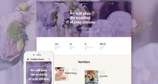 Wedding HTML Website Templates