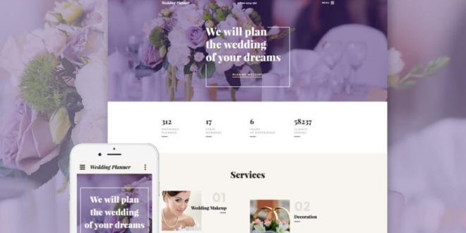 Wedding HTML Website Templates