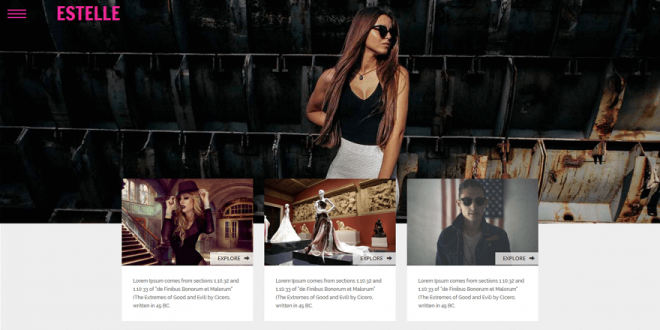 40 Best Free Fashion Html Website Templates 2018
