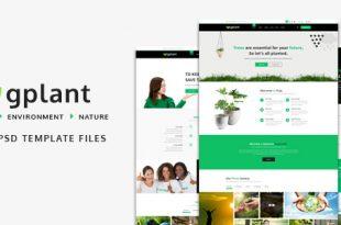 Environment PSD Website Templates