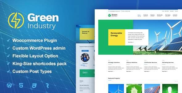 Best Eco And Green Wordpress Themes