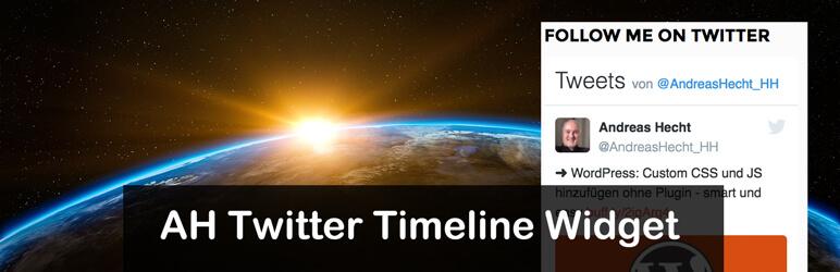 AH Twitter Timeline Widget