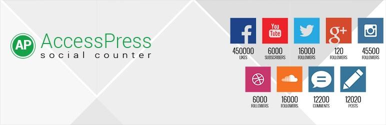 AccessPress Social Counter