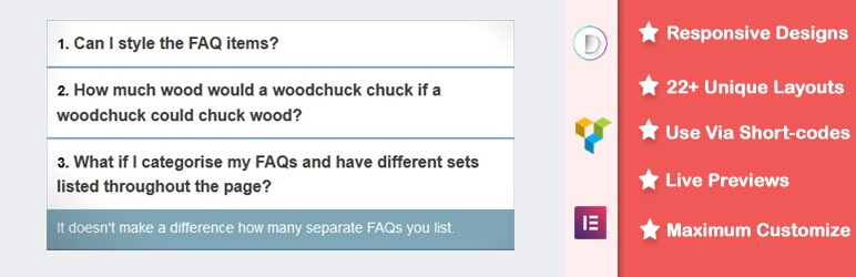 Accordions or FAQs