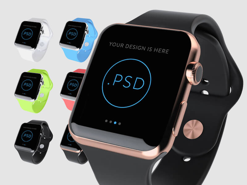 Apple Watch in 6 Colors