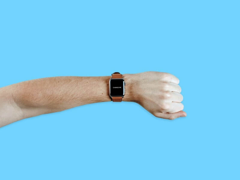 Apple Watch on male Arm