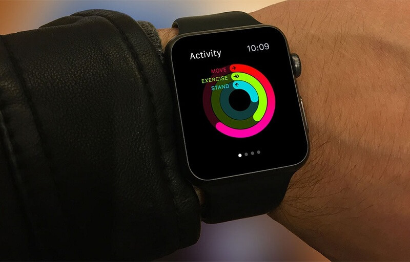 Apple Watch on male Wrist
