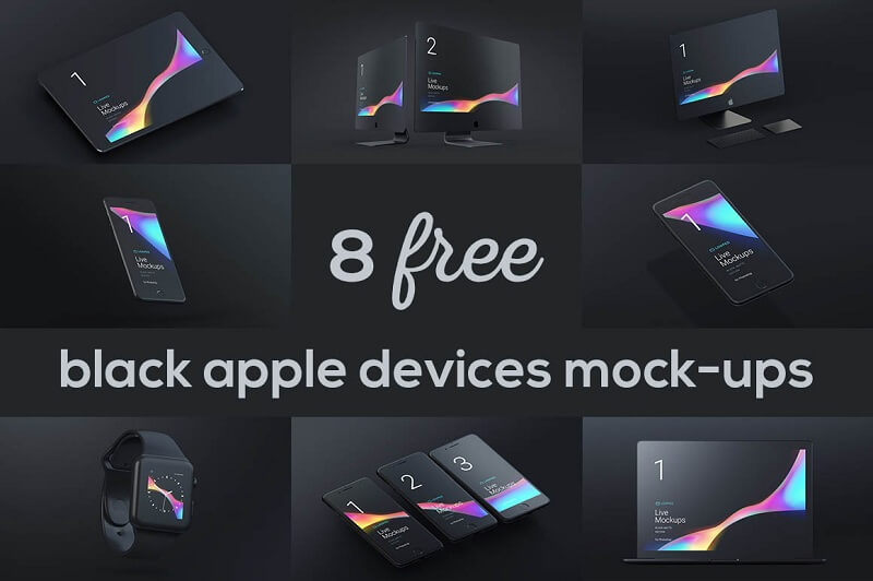 Black Matte Apple Devices
