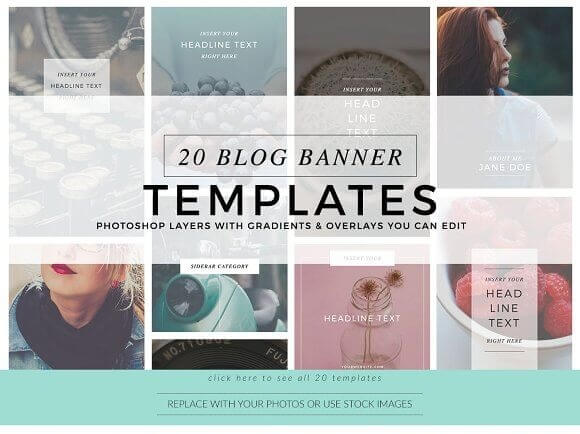 Blog Instagram Pinterest Banners 1