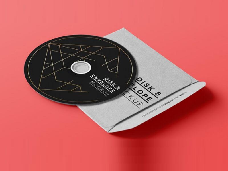 CD Disk Sleeve