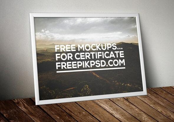 Certificate Mock up